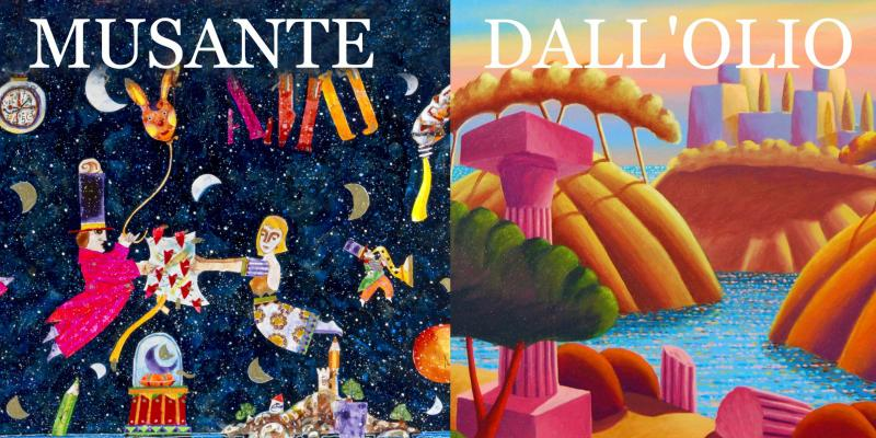 AS IN A DREAM, EXHIBITION BY FRANCESCO MUSANTE and LUCA DALL'OLIO