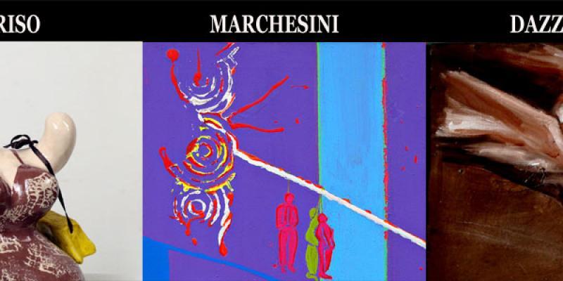 Personal exhibitions Francesca Guariso, Claudia Dazzini and Andrea Marchesini