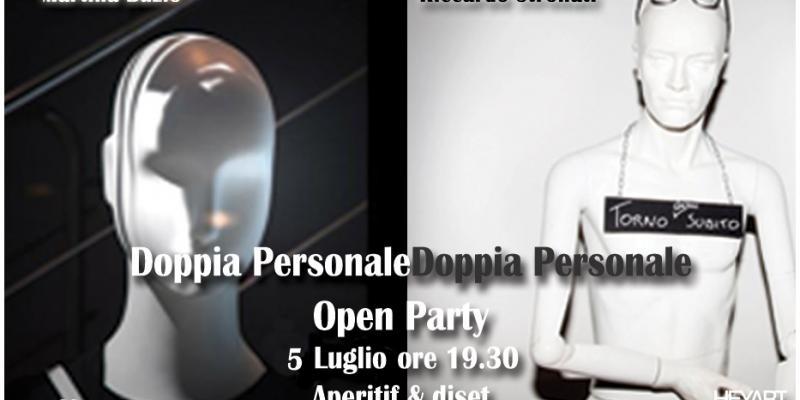 Exhibition by Martina Buzio & Riccardo Stronati