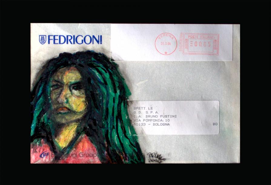 Ritratto su Busta Lettera Fedrigoni