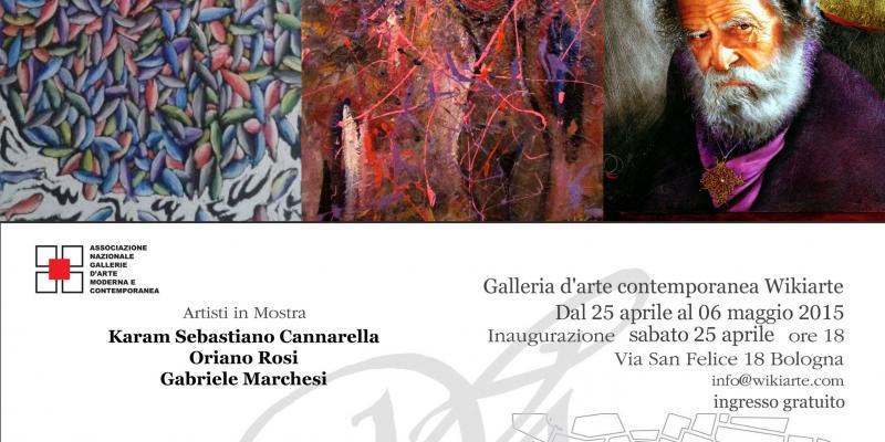 Show staff: Karam Sebastiano Cannarella, Oriano Rosi and Gabriele Marchesi - presents Dr. Giorgio Grasso