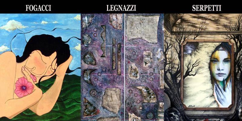 Solo exhibition by Rubens Fogacci, Alessio  Serpetti and Barbara Legnazzi presents Dr. Giorgio Grasso