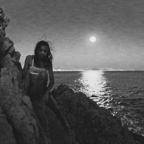Full Moon over Marseille Bay