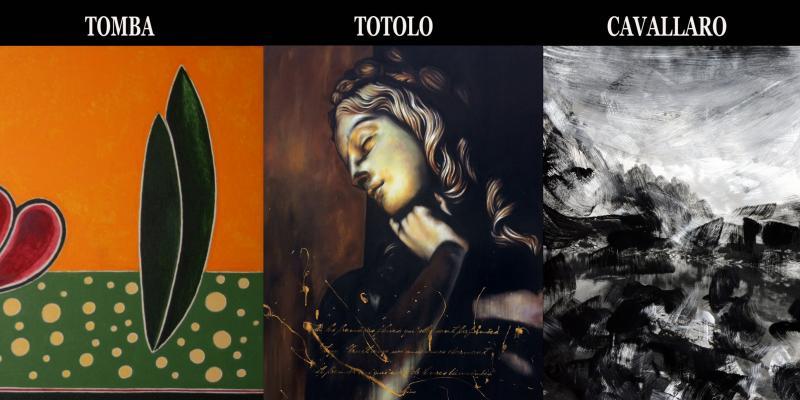 Exhibition by Roberto Tomba, Lorena Totolo and Giulia Cavallaro, presents Dr. Francesca Bogliolo