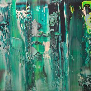 Green Glass of Ocean
