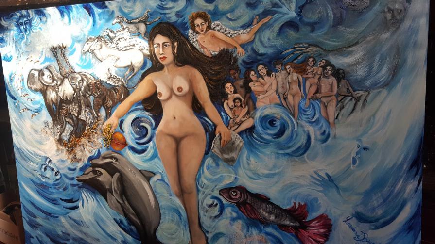 L'acqua ,La Via ovvero la nascita di Venere