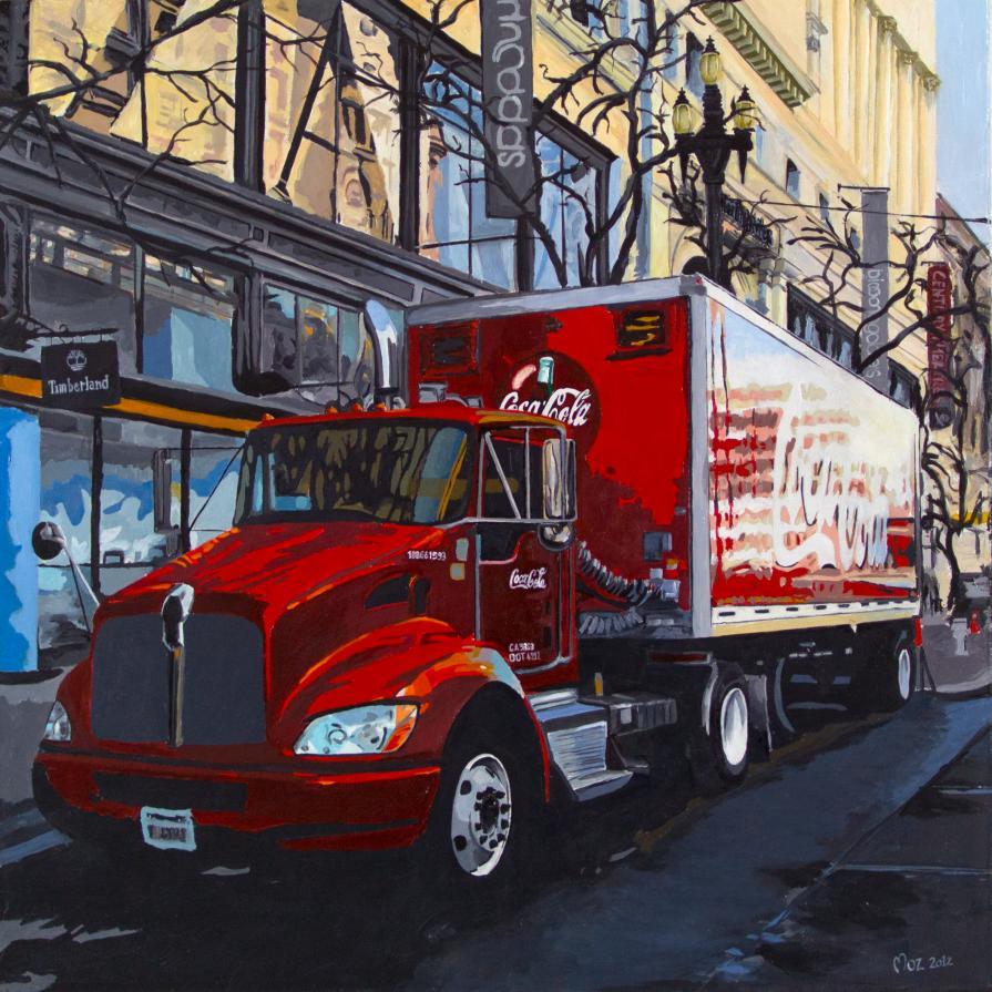 Cocacola Truck