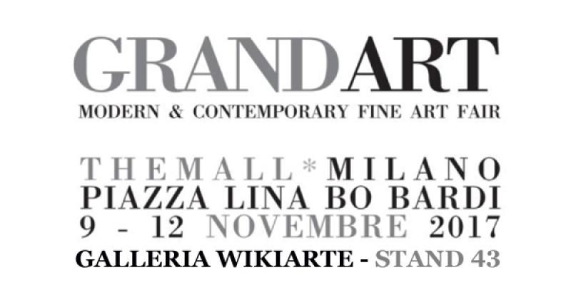 Grandart fair -  Wikiarte Gallery  - Stand 43 - Milan Piazzo Lina Bo Bardi