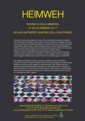 HEIMWEH di Daniela Spaletra/ Grazia Cantoni/ Andrea Luporini