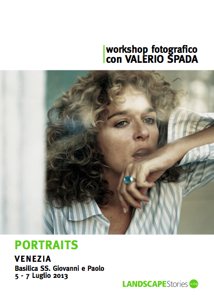 Photographic workshop with Valerio Spada I Portraits
