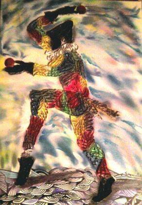 arlecchino danzante