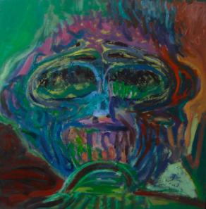 head of monkey No.1
