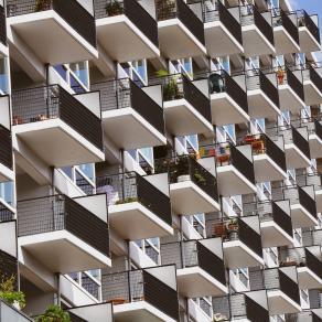 a contemporary city
