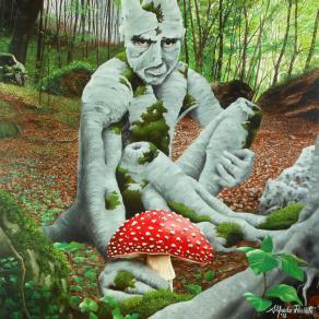 Il fungo rosso