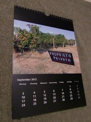 Calendario Walters 2012 settembre (leggi intera descr. cliccando la foto!)