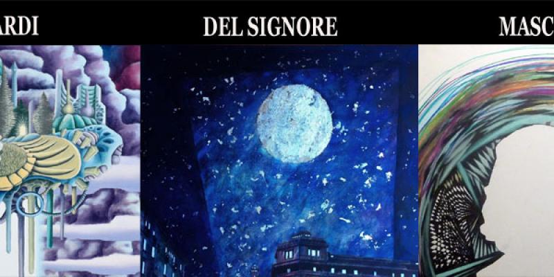 Personal Exhibitions by Paolo Del Signore, Demian Accardi, Silvana Mascioli present Denitza Nedkova