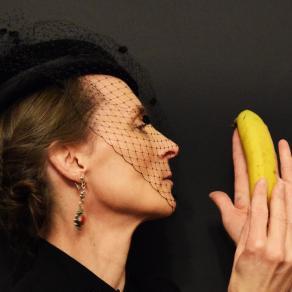 The yellow banana