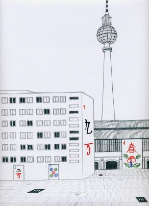 Mah-jong BERLIN, Alexander platz