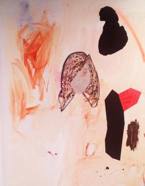 Girl and Other Things on Burnt Umber