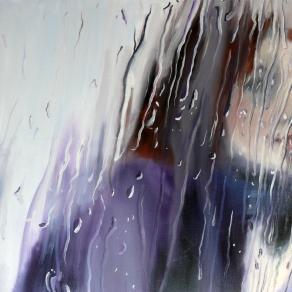 Dia in the rain