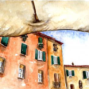 Effetti di piazza_2 (Lucca)