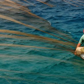 Traditional Fishing at Aegean Sea