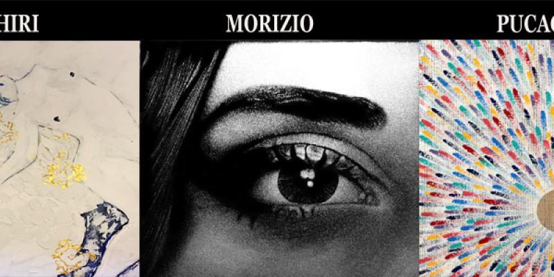 Wikiarte Gallery - solo exhibition of Moshiri, Morizio, Pucacco