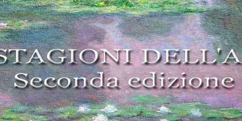"Opening Saturday, July 4 at 18:00 - exhibition ""The seasons dell'arte- II edition"" by Giorgio Grasso"