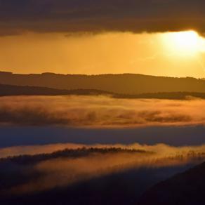 Sunrise in Maremma