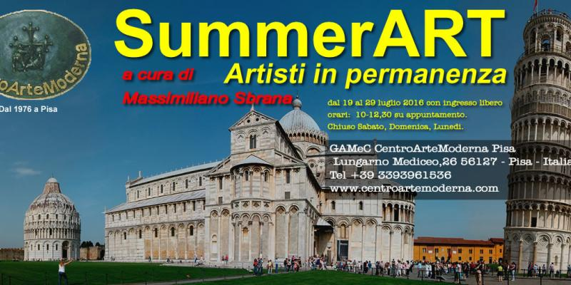 SummerART 2016 / Artisti in Permanenza