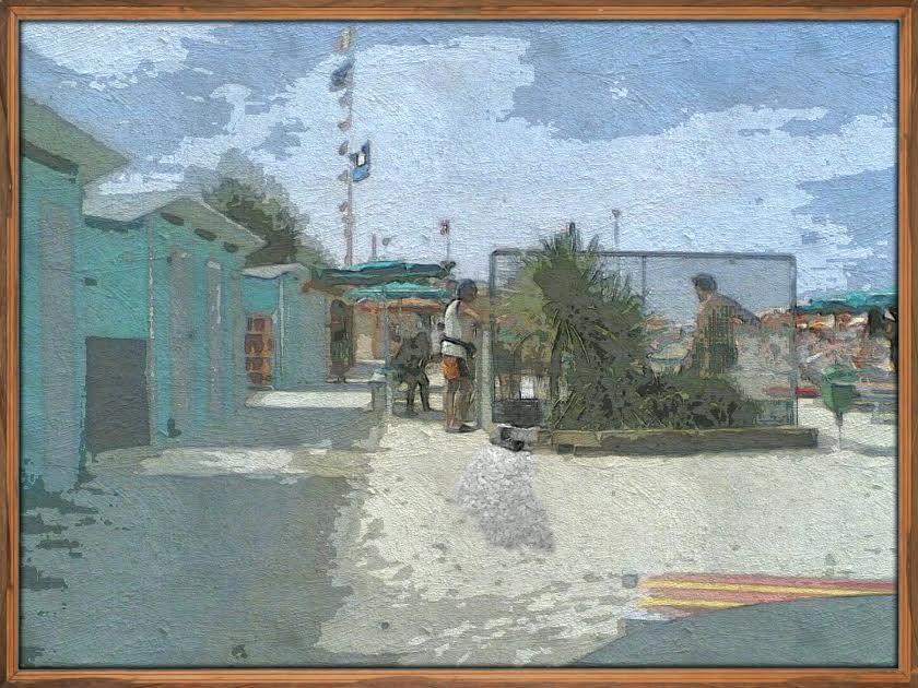Foto pittura digitale