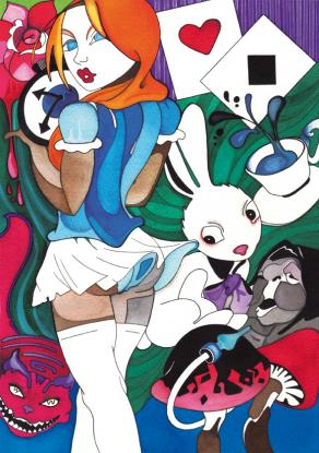 """Alice in the wonderland II"""