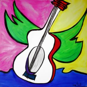 chitarra con ali