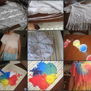 Realizzazione Rainbow T-shirt
