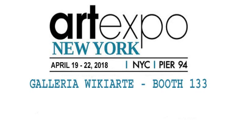 Wikiarte Gallery - Art Expo New York 2018 - Booth 133