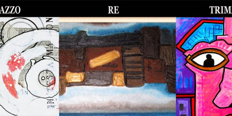 Personal exhibition of Marco Randazzo, Roberto Re, Giovanni Trimani presents Francesca Bogliolo