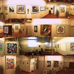 Collage di Opere tratte dalla Mostra Collettiva del Gruppo Donatello (2013)
