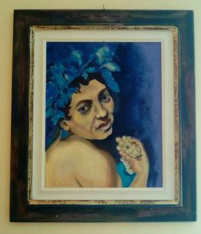 Omaggio al Bacchino Malato di Caravaggio