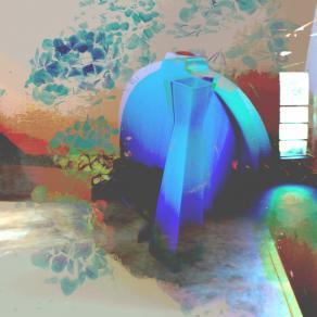 A round-blue square study