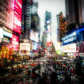 New York - Blurred Vision