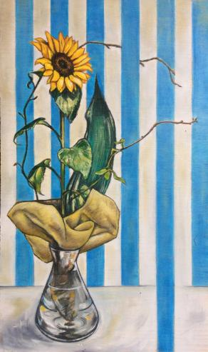 Sunflower and Stripes