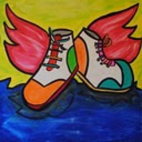 scarpi con ali