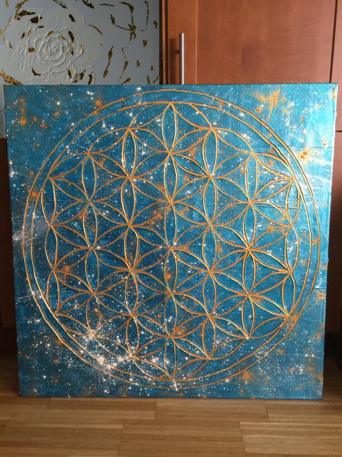 Flower of Life I., in studio