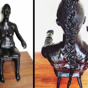Pedestal (Sic semper evello mortem tyrannis/Thus always I bring death to tyrants)