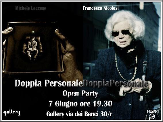 Exhibition Michael Leccese and Francesca Nicolosi.
