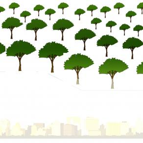 Future City with More Trees