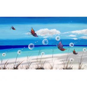 Mare soffioni e farfalle