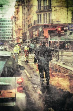 Street photography - Road workers