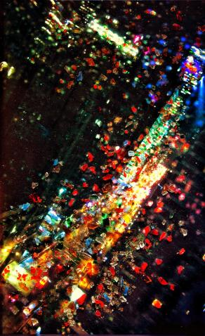 TIMES SQUARE AT NIGHT - MANHATTAN