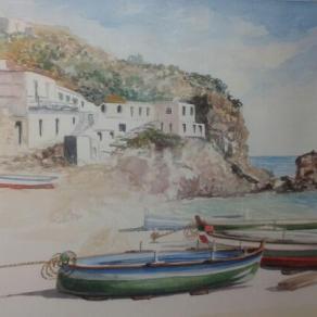 """Paesaggio siciliano """"Alicudi"""""""